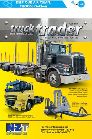 Truck Trader July 2019 by NZTrucking - issuu