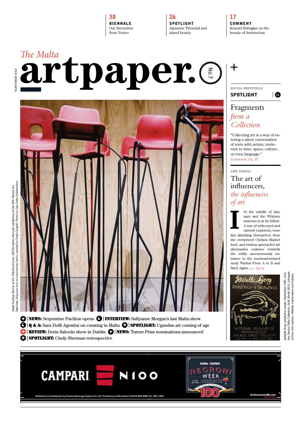 Artpaper  Issue #7 by Artpaper - issuu