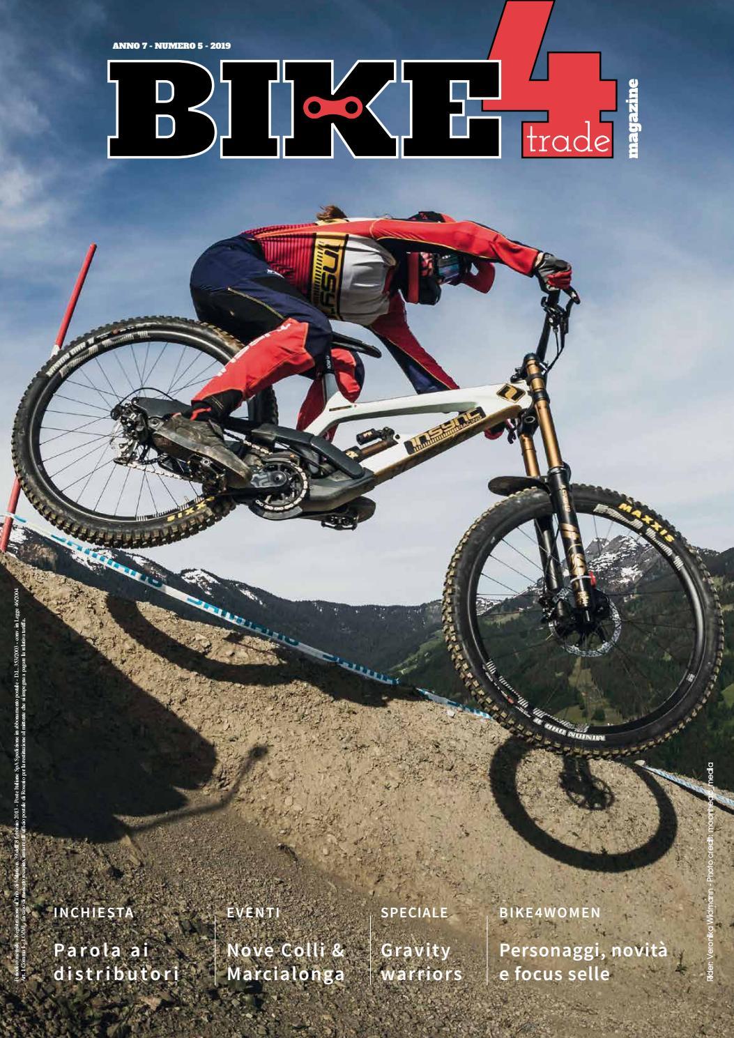 Boninbike Portaciclo c//rotelle MTB