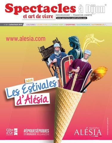 N°187 Spectacles Dijon By Publications Juillet Août 2019 EYD2WIH9