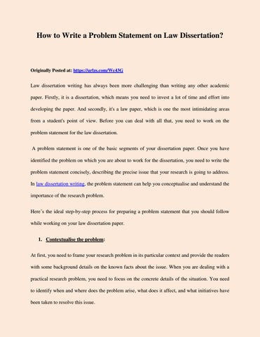 Writing a law dissertation argument synthesis essay