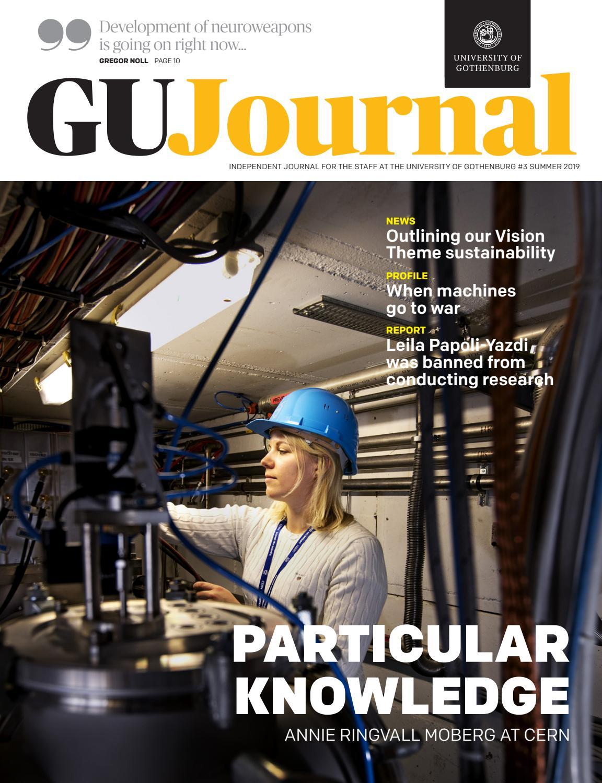 GU-Journal 3-2019 by University of Gothenburg - issuu