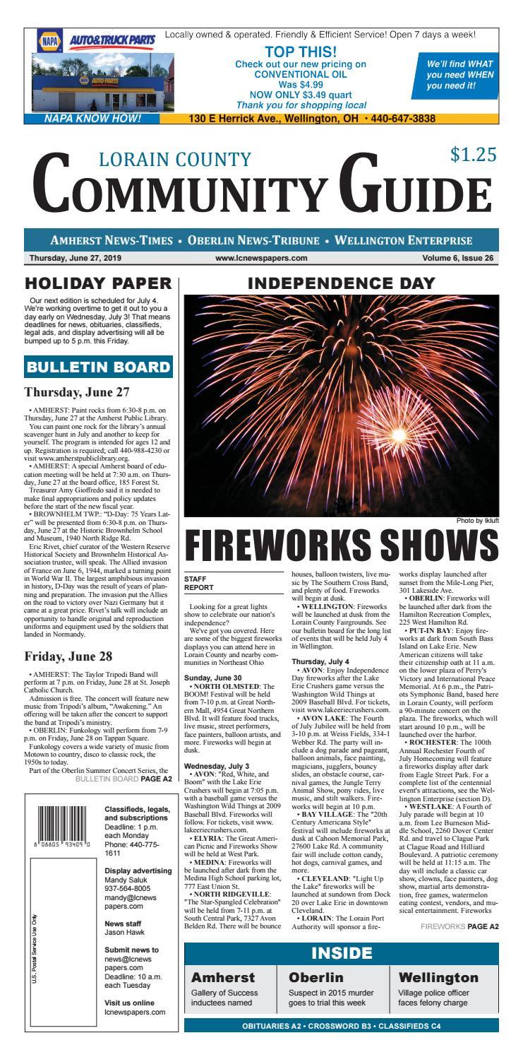 Lorain County Community Guide - June 27, 2019 by Schloss Media - issuu