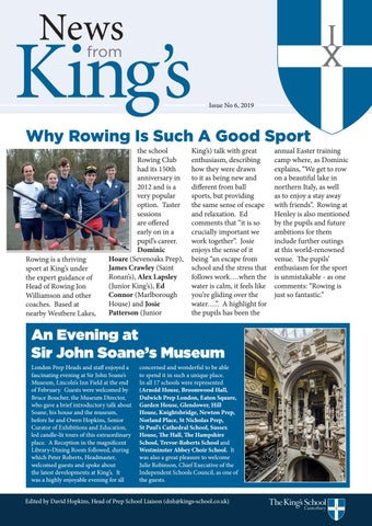 News from King's 2019 - The King's School, Canterbury by OKS