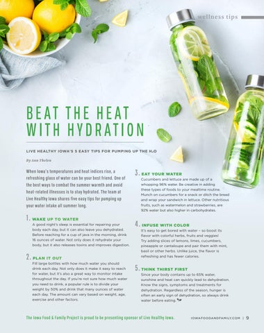 Page 11 of Wellness Tips: Beat the Heat