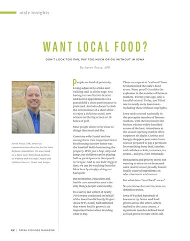 Page 44 of Aisle Insights: Want Local Food?