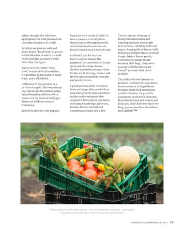 Page 45 of Aisle Insights: Want Local Food?