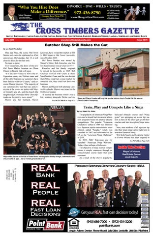 The Cross Timbers Gazette July 2019 by The Cross Timbers
