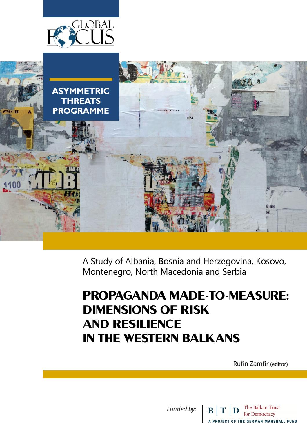 Propaganda Made To Measure Dimensions Of Risk And Resilience In
