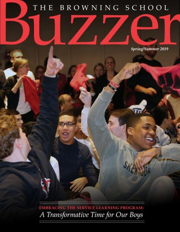 Really Sad About Tim Brownings Dancing >> Buzzer Spring Summer 2019 By The Browning School Issuu