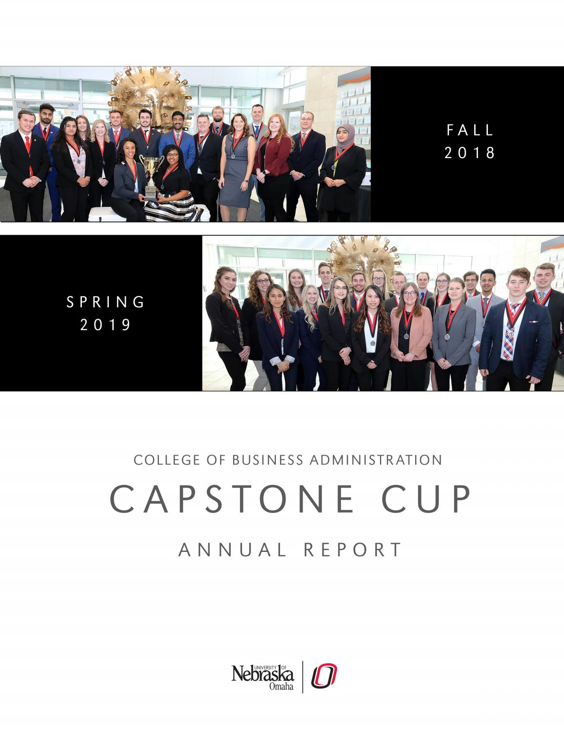 Capstone Cup 2018-2019 Annual Report by UNO College of