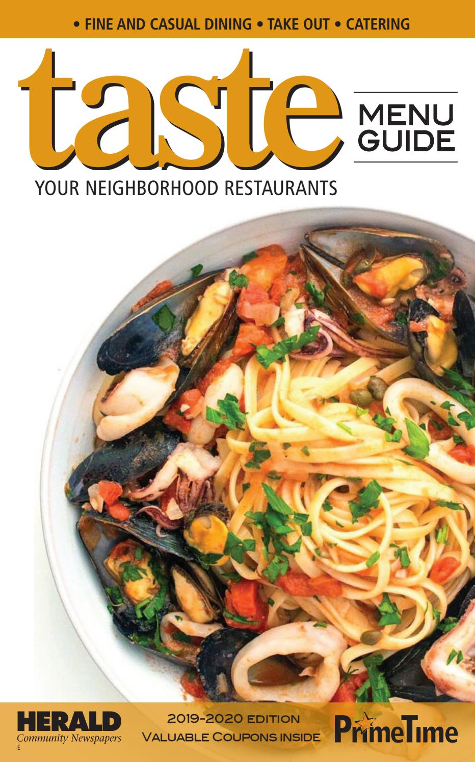 Menu Guide East By Richner Communications Inc Issuu