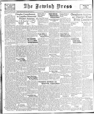 July 17 1936 By Jewish Press Issuu