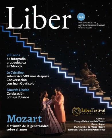 Liber 4, verano de 2019 by Arte&Cultura - issuu