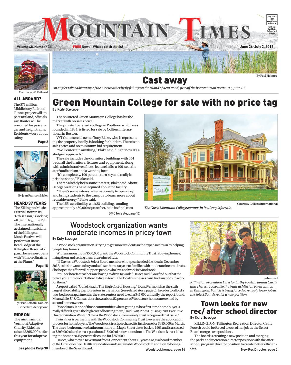 The Mountain Times - June 26 - July 2, 2019 by Polly Lynn