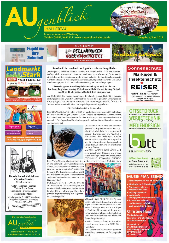 Augenblick Hallertau Ausgabe Juni 2019 By Augenblick