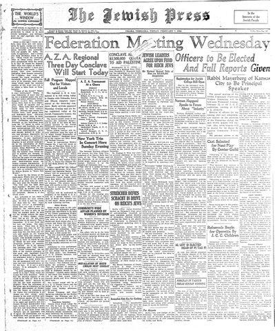 February 7, 1936 by Jewish Press - issuu