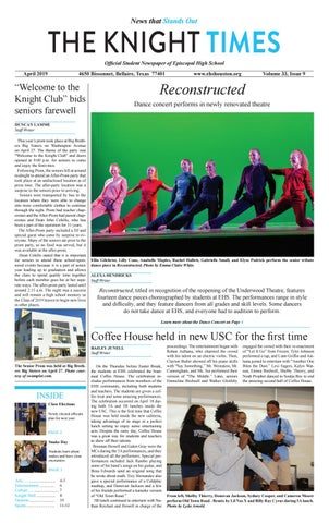 The Knight Times / April 2019 Issue 9 by KnightTimes - issuu