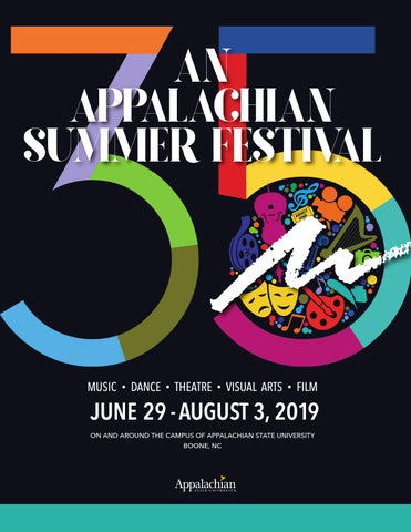 An Appalachian Summer Festival 2019 Playbill by Appalachian