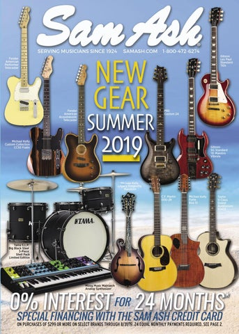 Summer 2019 Gear Guide by Sam Ash Music Corp  - issuu