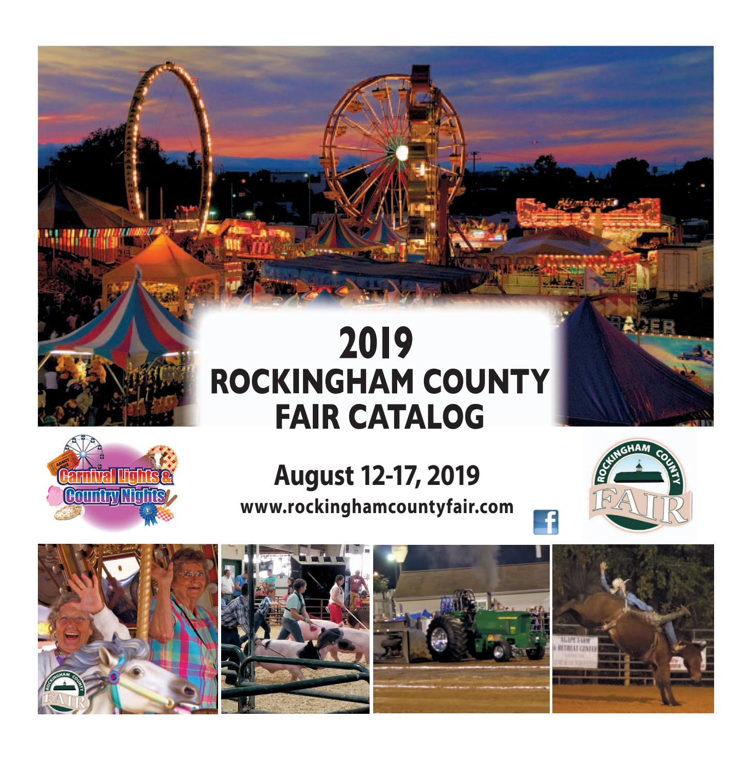 Rockingham County Fair Catalog - June 2019 by Daily News