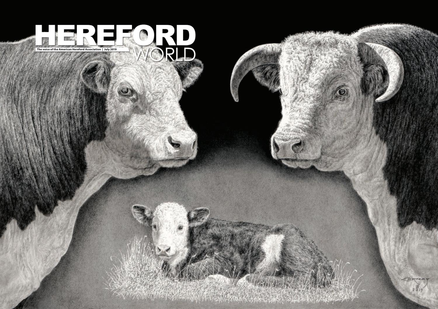 ccb29a7029c July 2019 Hereford World by American Hereford Association and ...
