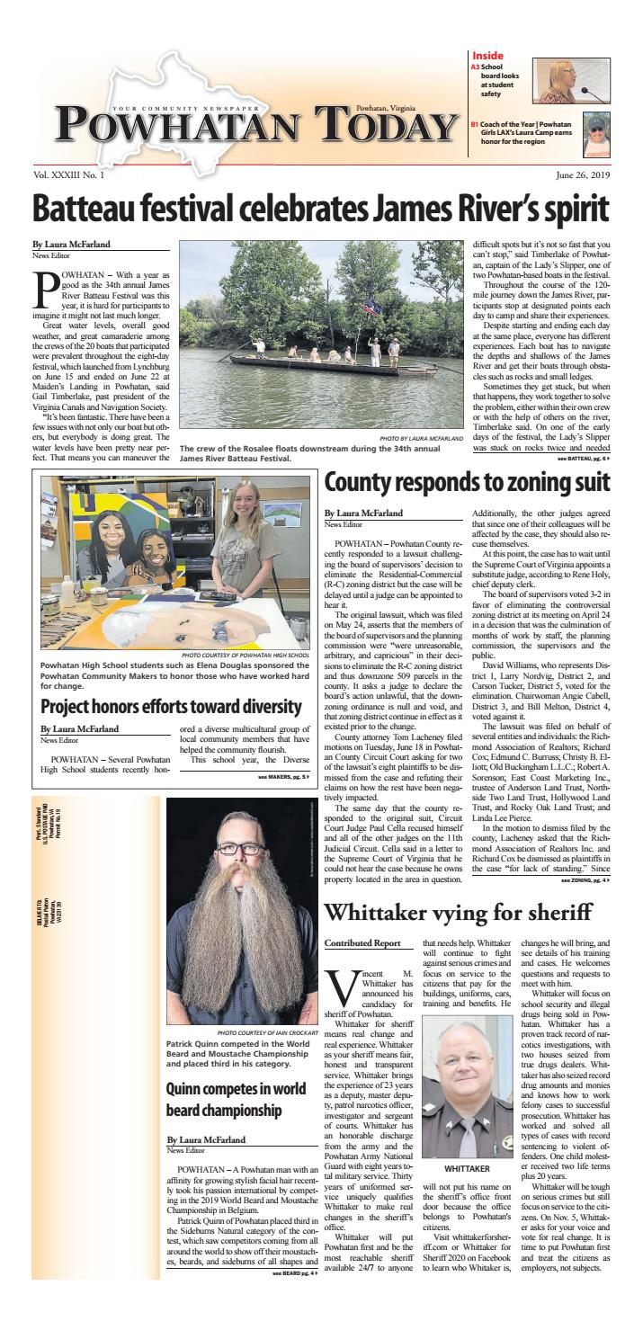06/26/2019 by Powhatan Today - issuu
