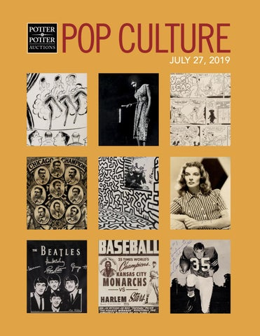 Pop Culture • July 27, 2019 by PotterAuctions - issuu
