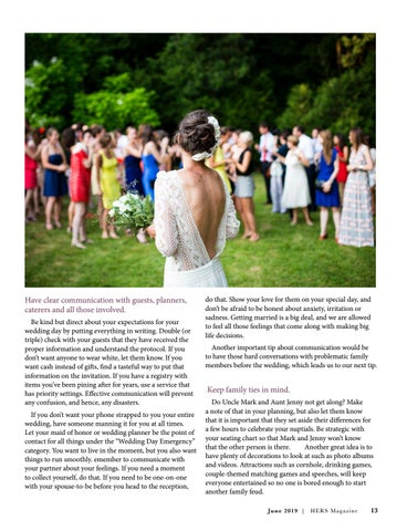 Page 13 of How Not to Become a Bridezilla
