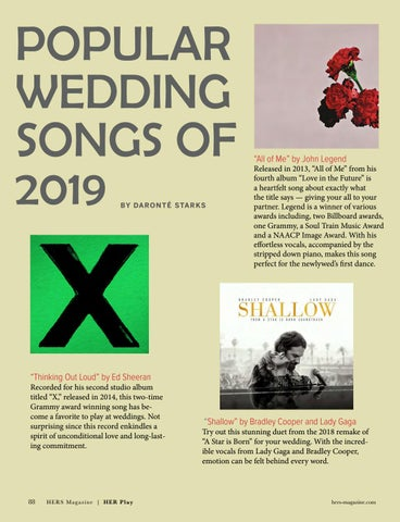 Page 88 of Popular Wedding Songs of 2019