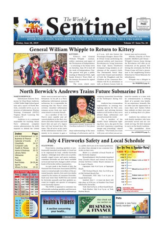 WS June 28, 2019 by Weekly Sentinel - issuu