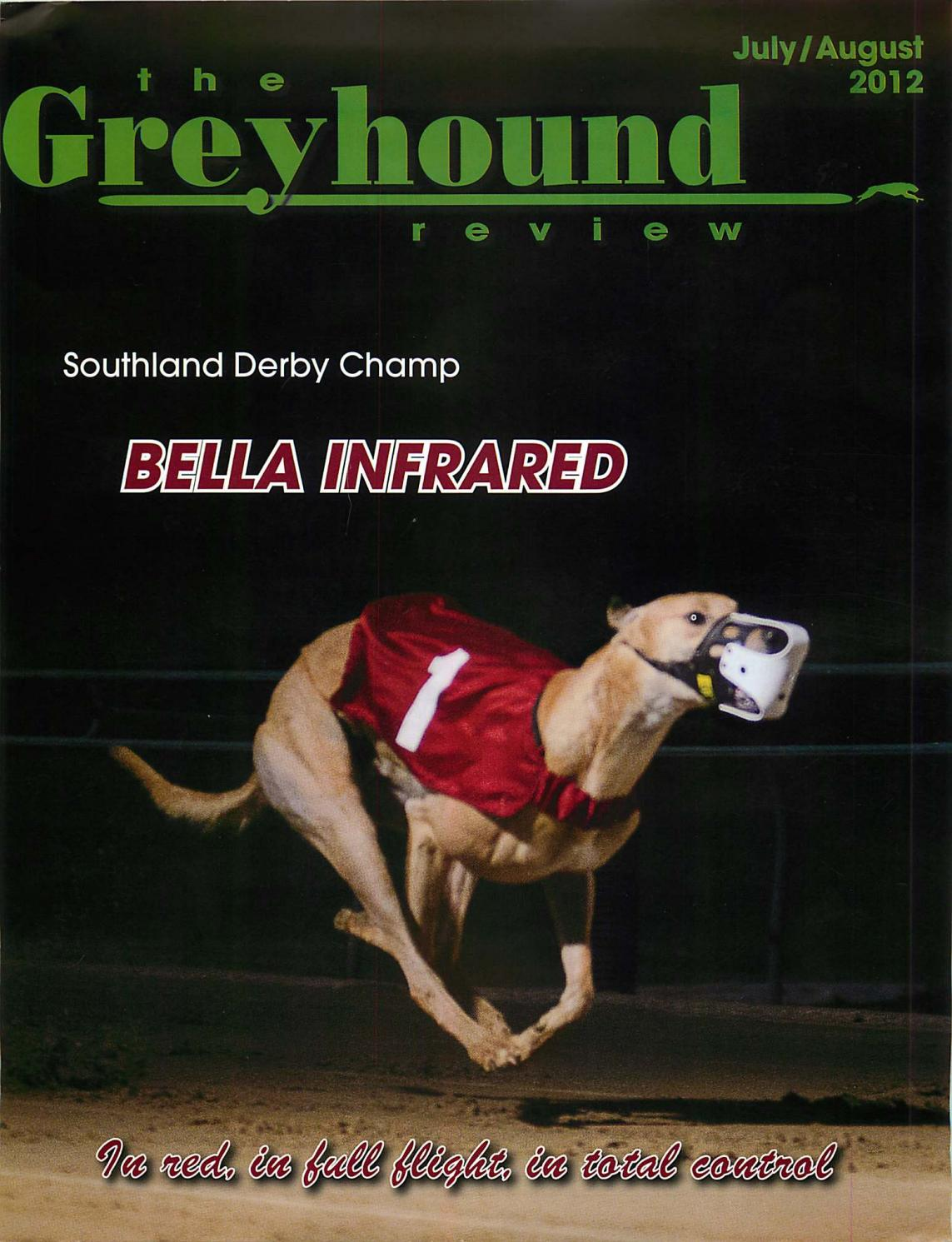 Greyhound Review July August 2012 by k9fun issuu