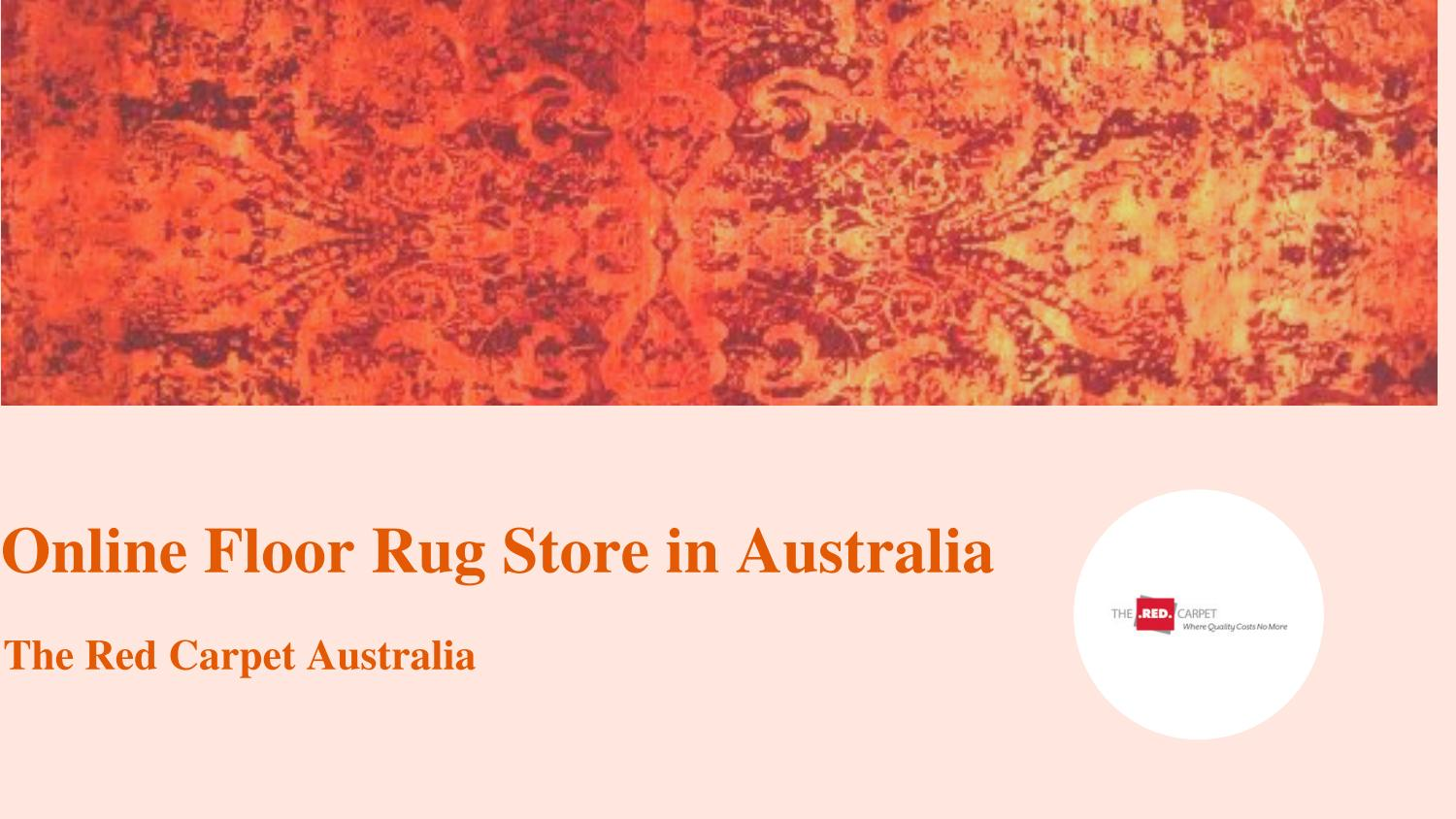 Online Rug In Australia By The