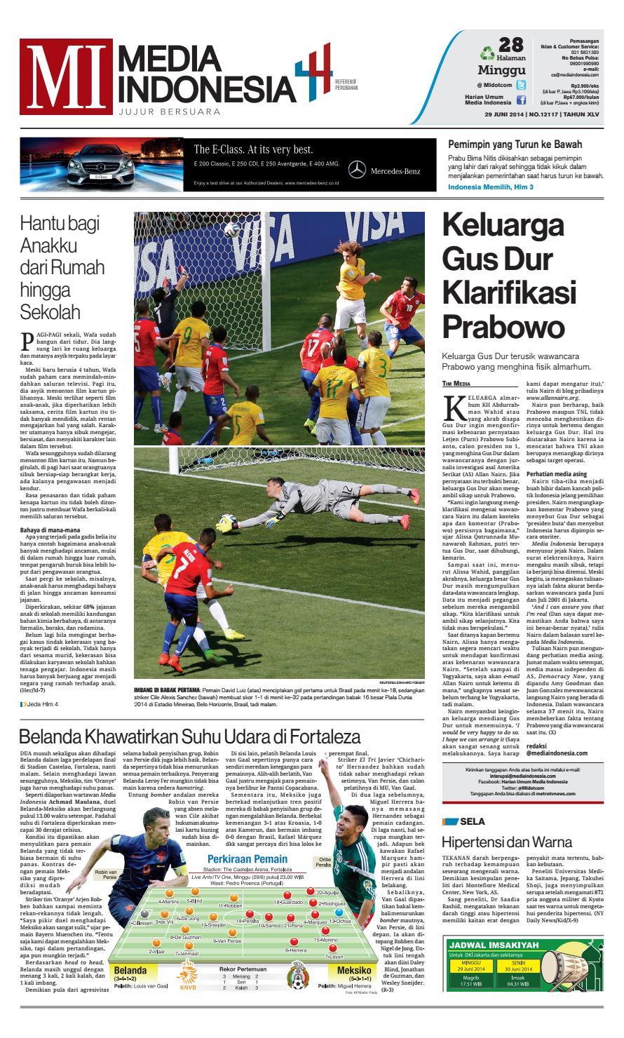 Media Indonesia 29 Juni 2014 By Mediaindonesia Issuu