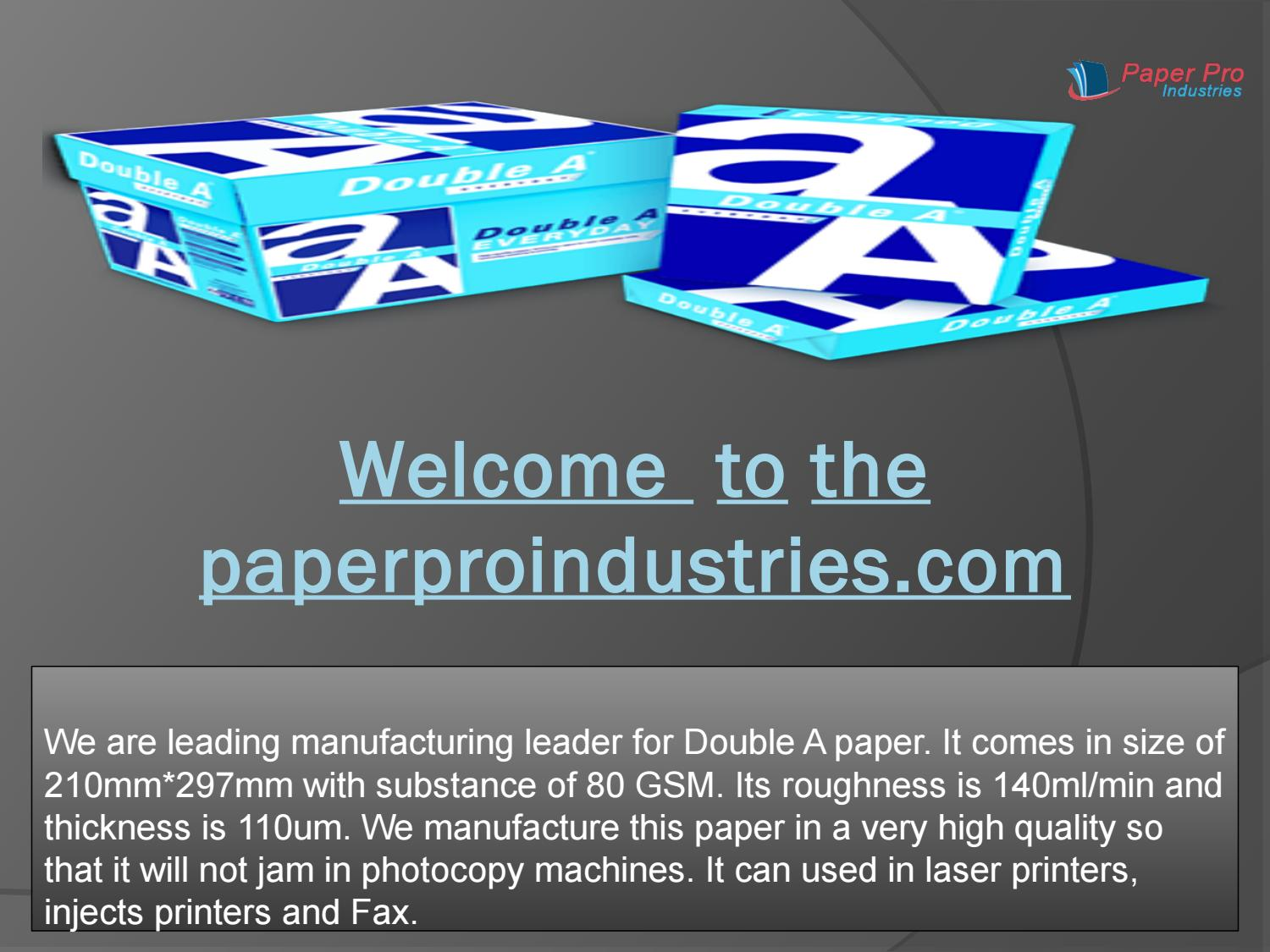 Thermal Paper supplier in Africa by samkushman1 - issuu