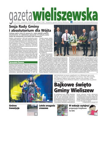 Gazeta Wieliszewska Nr 6 1412019 By Gmina Wieliszew Issuu