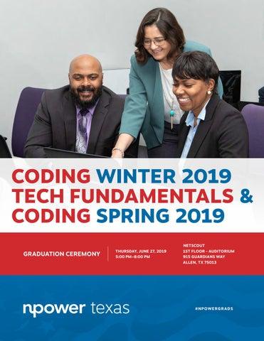 NPower Texas Coding Winter 2019, Tech Fundamentals, Coding