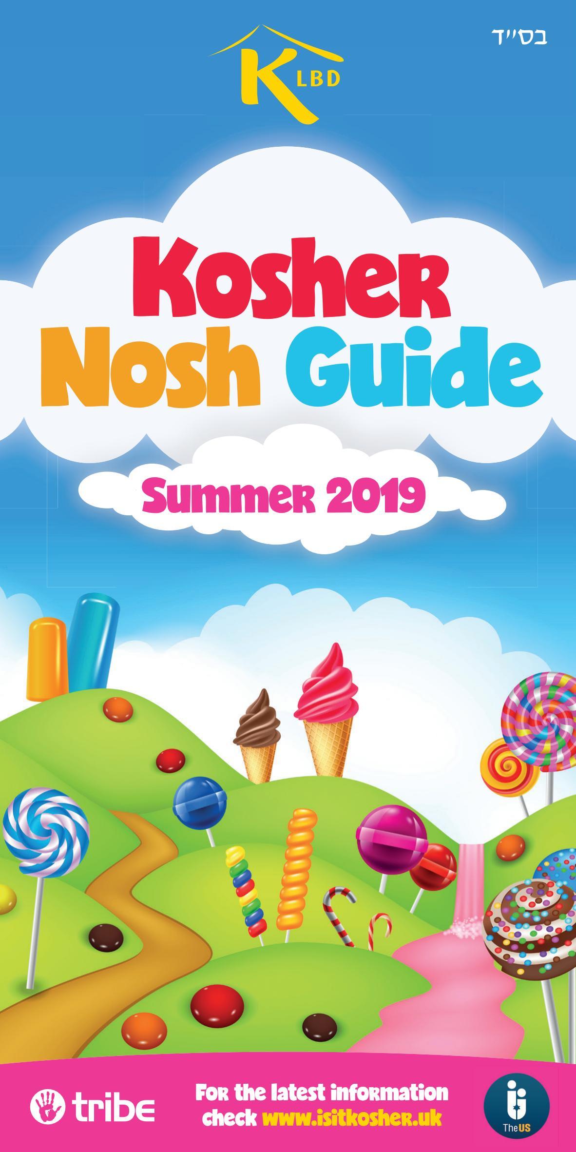 Kosher Nosh Guide 2019 By Jewish News Issuu