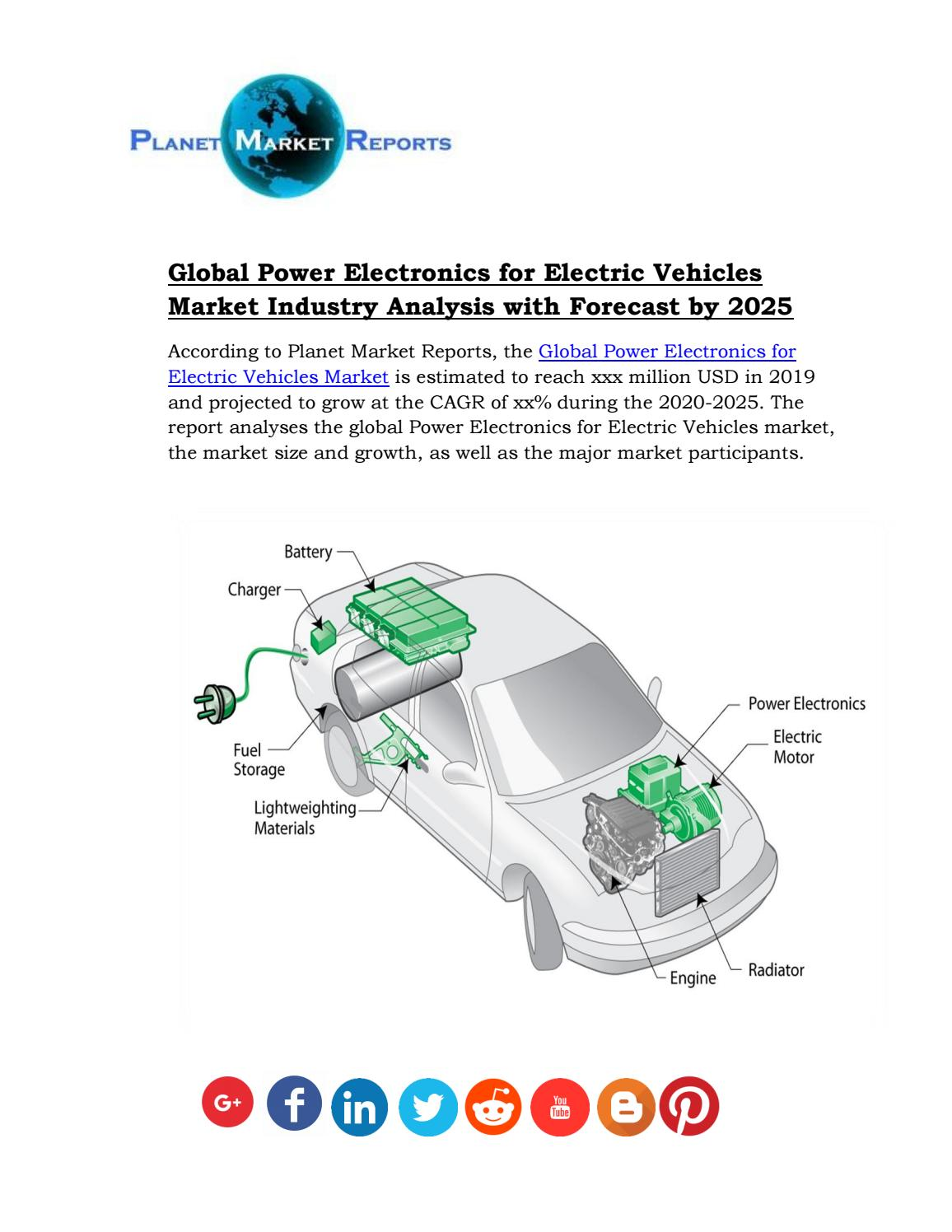 Global Power Electronics For Electric Vehicles Market Industry Analysis With Forecast By 2025 By Jhon Dane Issuu