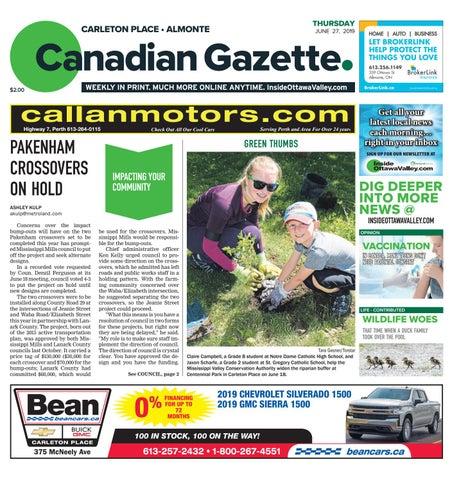 5b6871810 Almonte Carleton Place Canadian Gazette June 27, 2019 by Metroland ...