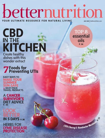 Better Nutrition July 2019 Issue Food Cover by Active Interest Media