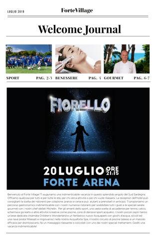 Primavera Sulcitana 2020 Calendario.Forte Village Issuu