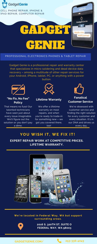 Gadget Genie - Professional Electronics Phones & Tablet