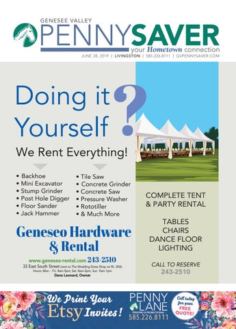 d5561cb9a40b9 Livingston Edition - Genesee Valley Penny Saver 6-28-2019 by Genesee ...
