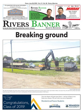 June 28, 2019 by Rivers Banner - issuu