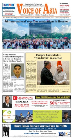 VOA Epaper June 28 2019 by VoiceOf Asia - issuu