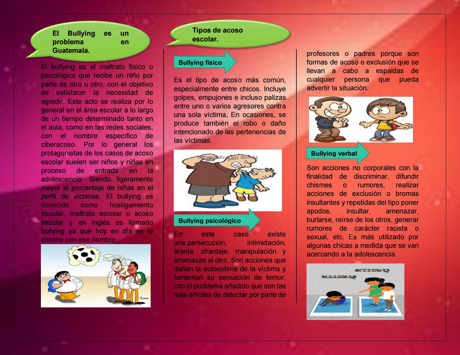 El Bullying es un Problema en Guatemala by renojsumy - issuu