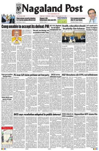 June 27, 2019 by Nagaland Post - issuu