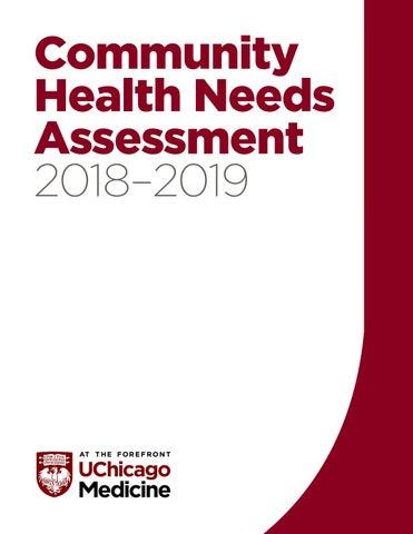 2018-2019 Community Health Needs Assessment - UChicago