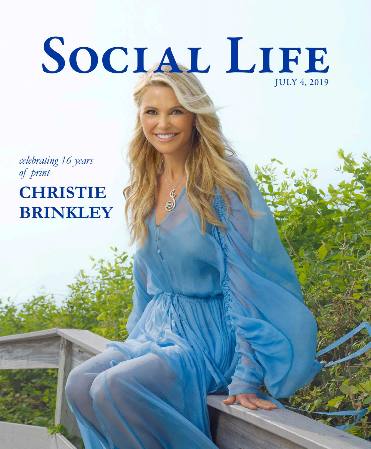 d065282a1 Social Life - July 2019 - Christie Brinkley by Social Life Magazine - issuu
